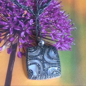 Jewelry - MOP & marcasite necklace